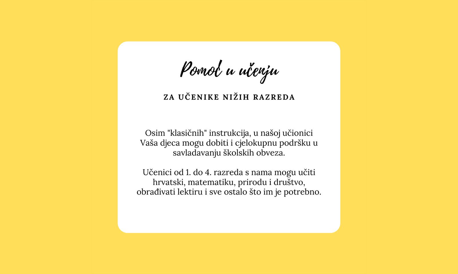 Obrnuta učionica - Novosti - Pomoć u učenju