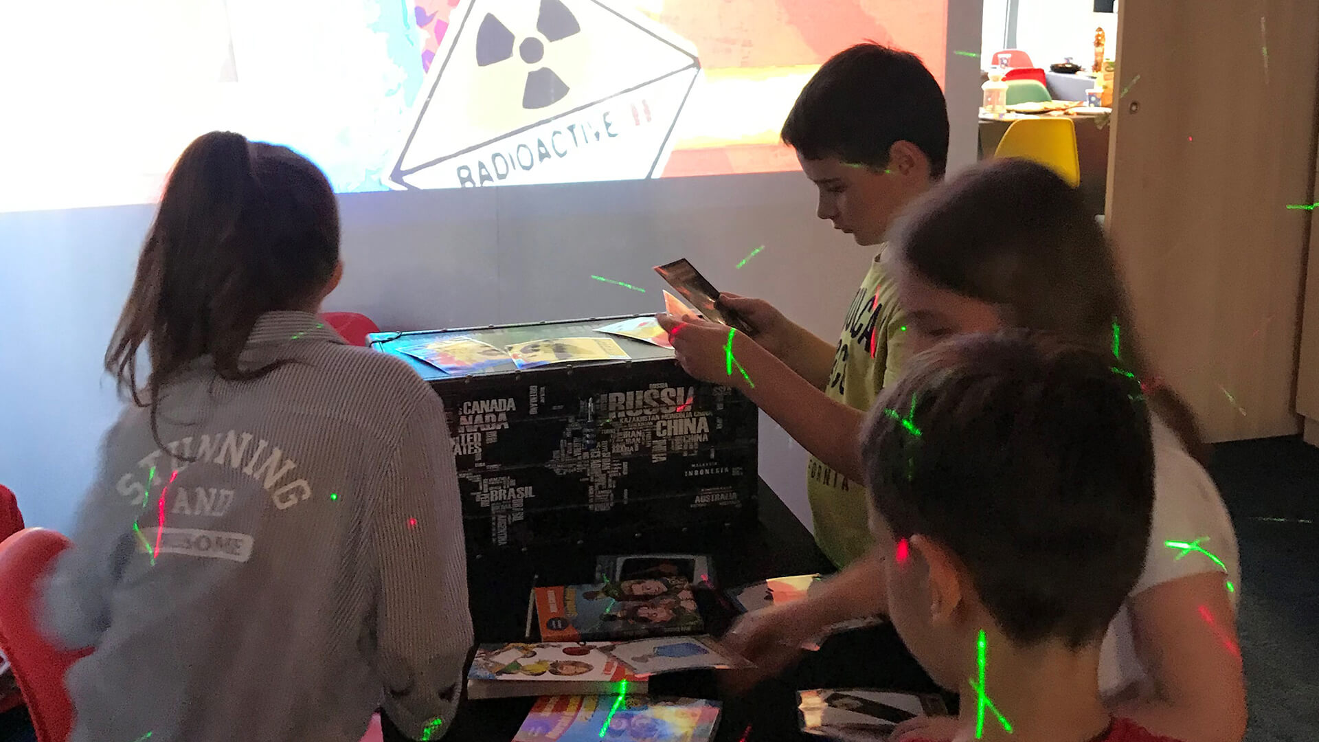 Obrnuta učionica - Rođendani - Vremeplov Escape